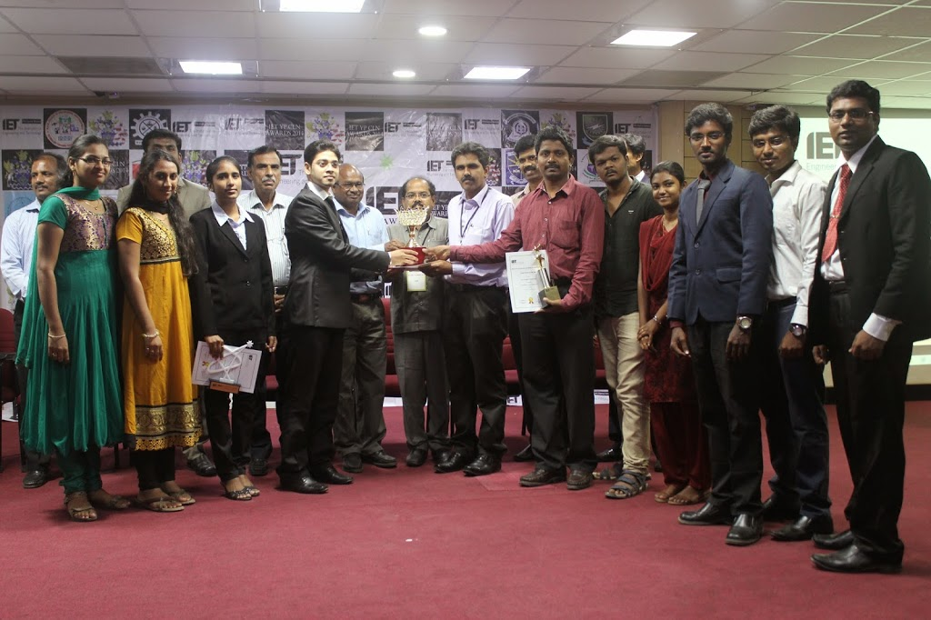 IET Student Chapter Bagged Awards