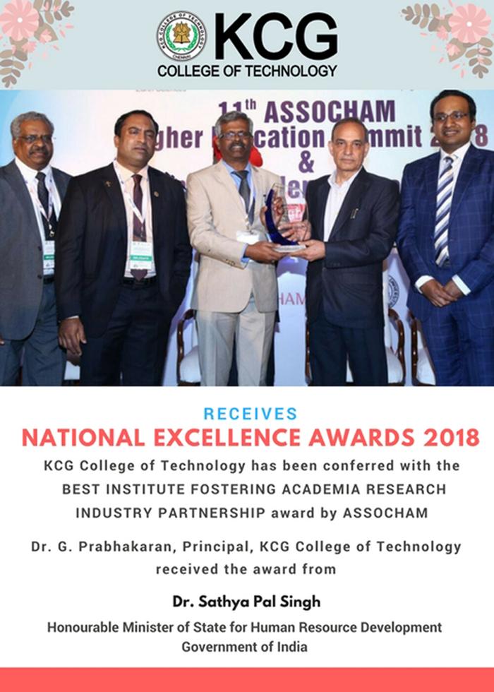 KCG Assocham Award