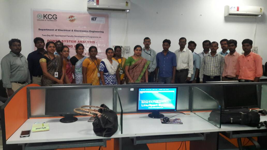Two Day Fdp On Power System Analysis Using Etap Kcg
