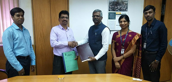 Signing Of MoU Between NCCR And KCG College Of Technology