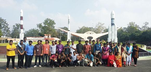 INDUSTRIAL VISIT ISRO