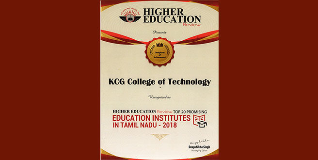 HIGHER EDUCATION Review  Recognition