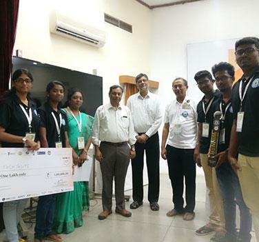 AICTE-MHRD Smart India Hackathon – I Place – 2018