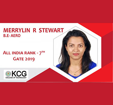 Merrylin  R Stewart - All India Rank 7th In Gate 2019