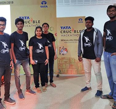 TATA Crucible Hackathon - 3rd Place - 2019