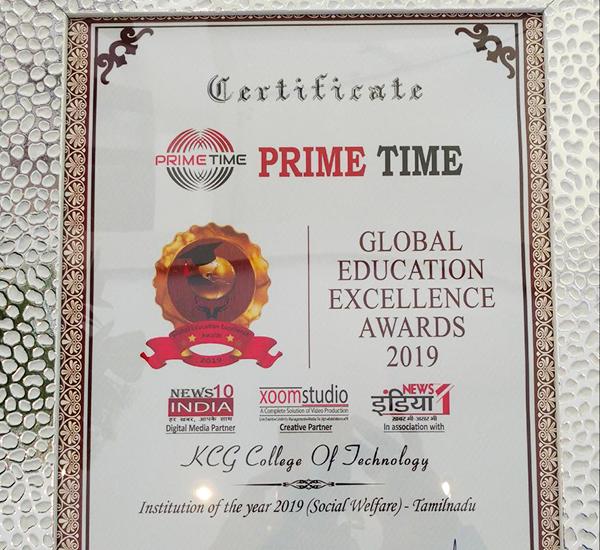 High Prime Awds Kcg19